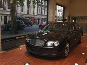 Linley for Bentley Limited Edition Continental Flying Spur