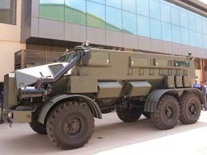 Mahindra Mine Protected Vehicle