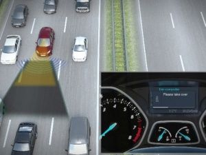 Ford Traffic Jam Assist Technology