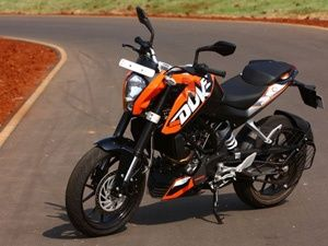 KTM 200 Duke Launch