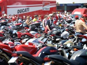 World Ducati Week 2012 Day3