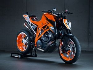 2013 KTM 1290 SuperDuke R Prototype Official Action Video