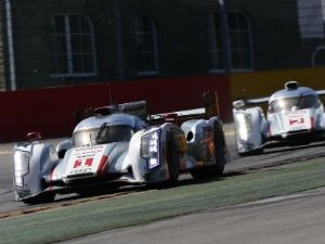 Audi R18 e-tron quattro in action