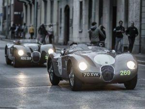 Jaguar at 2013 Mille Miglia