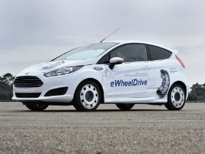 Ford Fiesta E-Wheel Drive