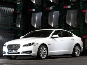 The new Jaguar 2012  XJ