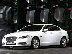 The new Jaguar 2012  XJ