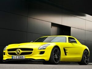 Shining bright: Mercedes-Benz