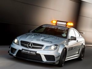 Mercedes-Benz C63 AMG Black Edition Safety Car