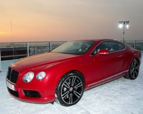 New Bentley Continental V8 Coupe arrives in Germany