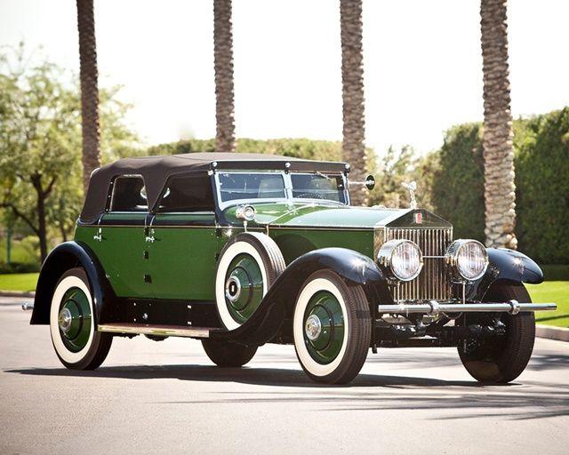 Marlene Dietrich 1929 Rolls-Royce Phantom I Transformable Ph