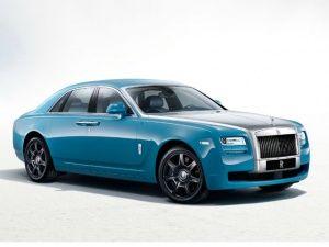 Rolls Royce Ghost: Alpine Trial Centenary special-edition