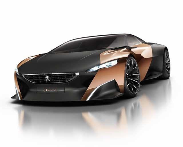 The Peugeot Onyx Concept